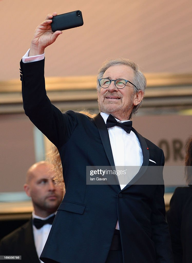 Jury President and Director Steven Spielberg attends the 'Inside Llewyn Davis' Premiere during the 66th Annual Cannes Film Festival at Grand Theatre Lumiere on May 19, 2013 in Cannes, France.