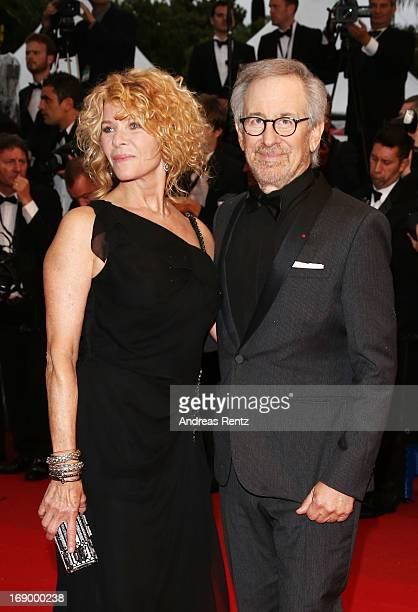 Jury President and Director Steven Spielberg with Kate Capshaw attend 'Jimmy P ' Premiere during the 66th Annual Cannes Film Festival at Grand...