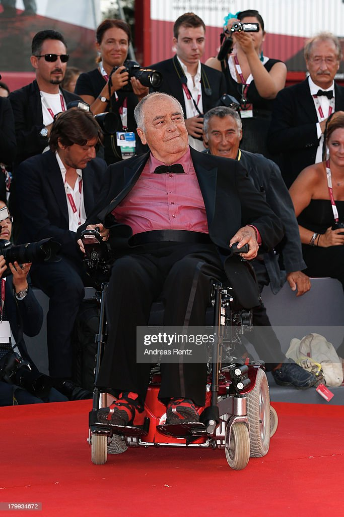 Jury President <a gi-track='captionPersonalityLinkClicked' href=/galleries/search?phrase=Bernardo+Bertolucci&family=editorial&specificpeople=228513 ng-click='$event.stopPropagation()'>Bernardo Bertolucci</a> attends the Closing Ceremony during the 70th Venice International Film Festival at the Palazzo del Cinema on September 7, 2013 in Venice, Italy.