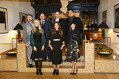 Jury President Darren Aronofsky and jurors Matthew Weiner Daniel Bruhl Bong Joonho Martha De Laurentiis Claudia Llosa and Audrey Tautou attend the...