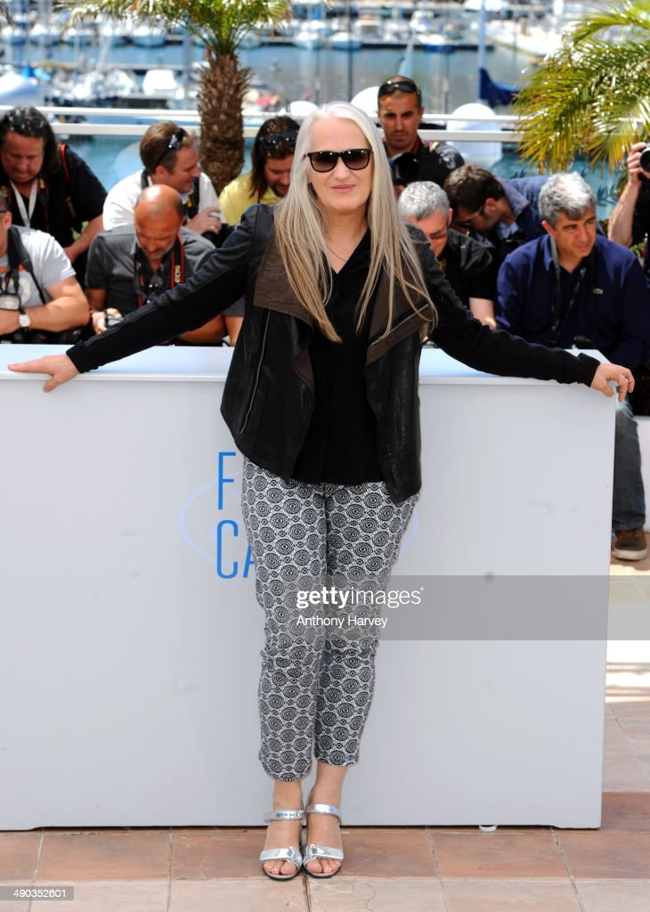 Jury President <a gi-track='captionPersonalityLinkClicked' href=/galleries/search?phrase=Jane+Campion&family=editorial&specificpeople=616530 ng-click='$event.stopPropagation()'>Jane Campion</a> attends the Jury photocall at the 67th Annual Cannes Film Festival on May 14, 2014 in Cannes, France.