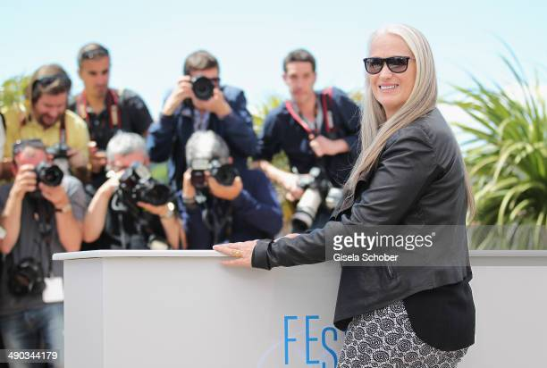 Jury President Jane Campion attends the Jury photocall during the 67th Annual Cannes Film Festival on May 14 2014 in Cannes France