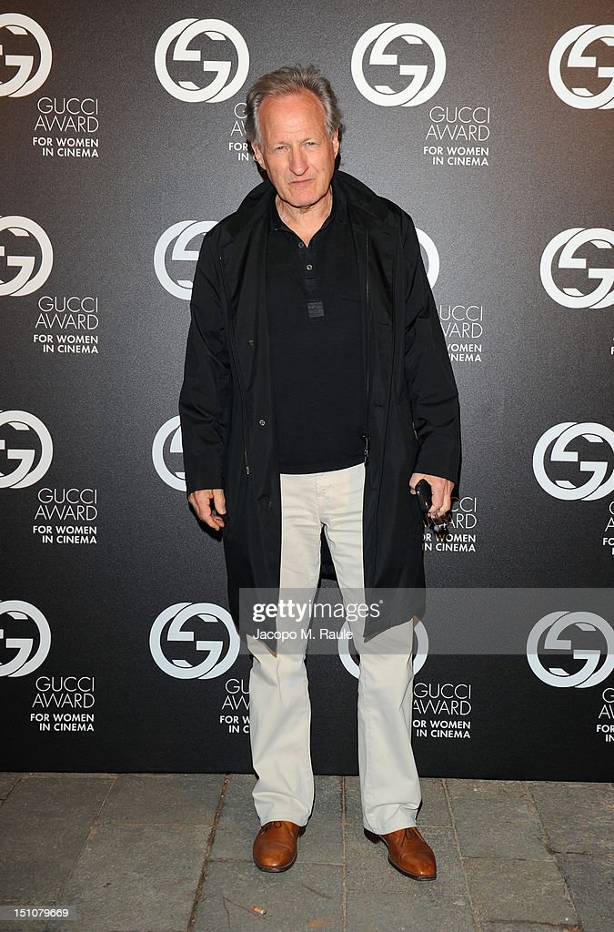Jury President Michael Mann attends the Gucci Award for Women in Cinema at The 69th Venice International Film Festival at Hotel Cipriani on August 31, 2012 in Venice, Italy.