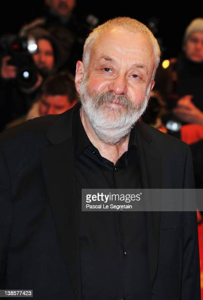 Jury President Mike Leigh attends the 'Les Adieux De La Reine' Premiere during day one of the 62nd Berlin International Film Festival at the...