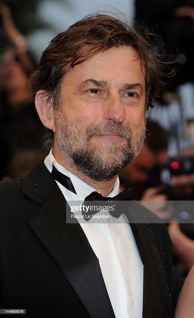 Jury president <a gi-track='captionPersonalityLinkClicked' href=/galleries/search?phrase=Nanni+Moretti&family=editorial&specificpeople=621165 ng-click='$event.stopPropagation()'>Nanni Moretti</a> attends the 'Amour' premiere during the 65th Annual Cannes Film Festival at Palais des Festivals on May 20, 2012 in Cannes, France.
