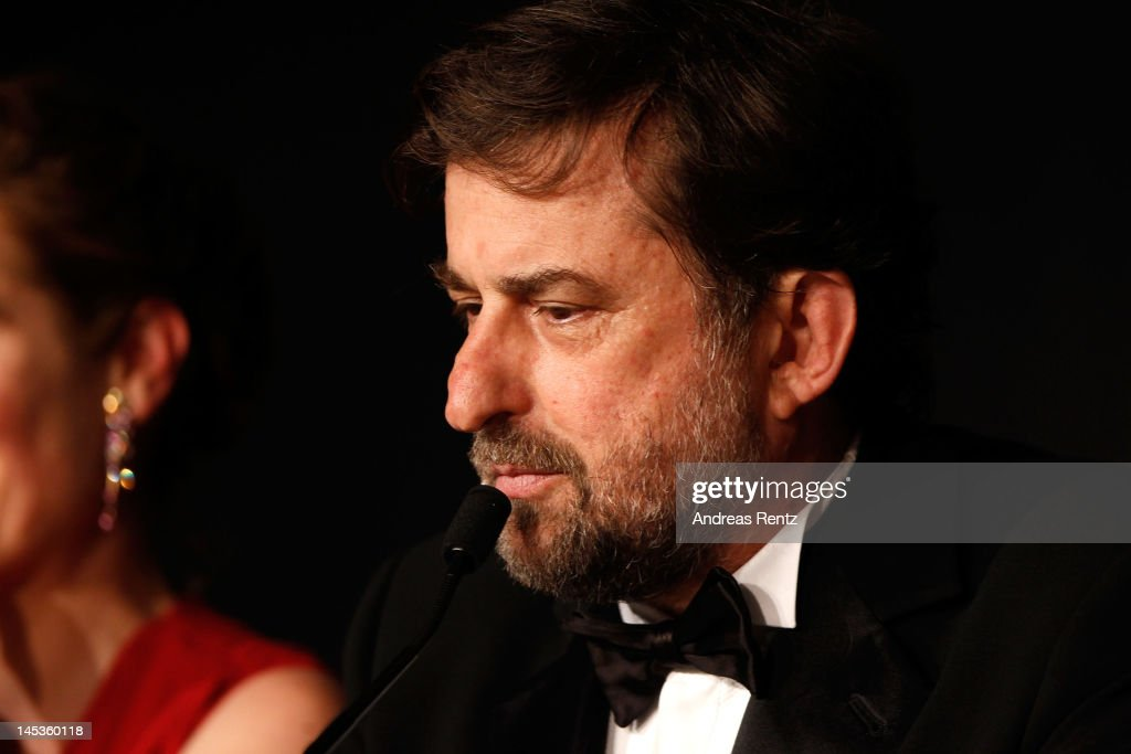 Jury president Nanni Moretti attends the Winners Press Conference during the 65th Annual Cannes Film Festival on May 27, 2012 in Cannes, France.