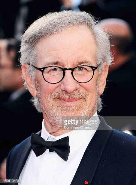 Jury president Steven Spielberg attends the Premiere of 'Zulu' and the Closing Ceremony of The 66th Annual Cannes Film Festival at Palais des...