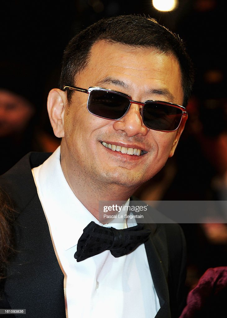 Jury president Wong Kar Wai attends the 'Side Effects' Premiere during the 63rd Berlinale International Film Festival at Berlinale Palast on February 12, 2013 in Berlin, Germany.