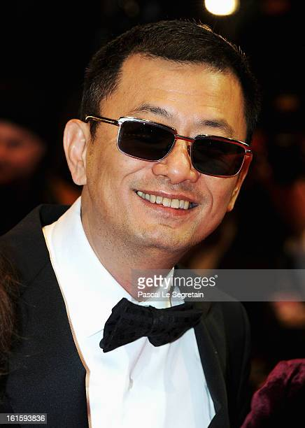 Jury president Wong Kar Wai attends the 'Side Effects' Premiere during the 63rd Berlinale International Film Festival at Berlinale Palast on February...