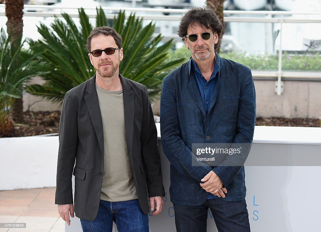 Jury presidents Ethan Coen and Joel Coen attend the Jury photocall during the 68th annual Cannes Film Festival on May 13 2015 in Cannes France