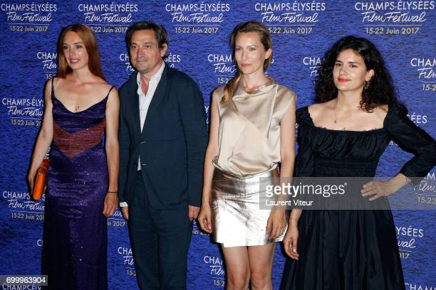 Jury Short Film Laetitia Dosch LouisDo de Lencquensaing Dounia Sichov and MarieLouise Khondji attend Closing Ceremony of 6th Champs Elysees Film...