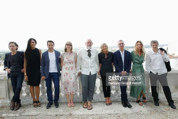 Jury Singer Raphael actress Stefi Celma editorial manager at 'Canal Plus Cinema' Ivan Guyot producer Denise Robert President of the Jury John...