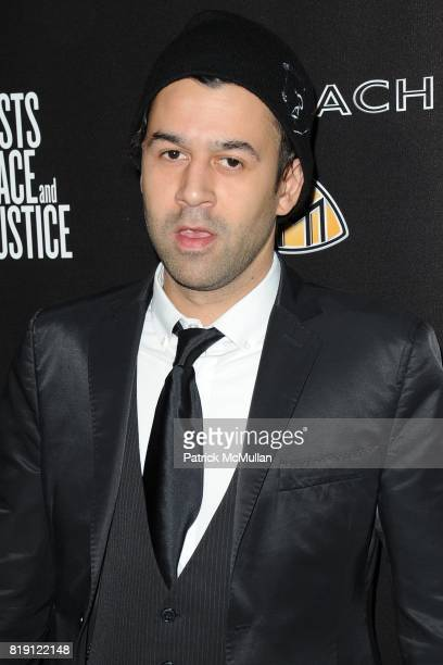 Jus Ske attends 3rd Annual PreOscar Hollywood DOMINO Gala Benefiting Artists for Peace and Justice at BAR 210 on March 4 2010 in Beverly Hills...