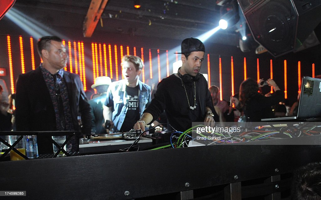 DJ Jus Ski attends the After Party at Sound Night club on July 27, 2013 in New York City.