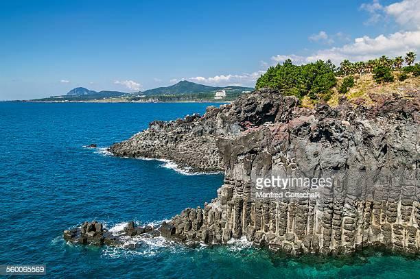 Jusangjeollidae Rocks Jeju Island