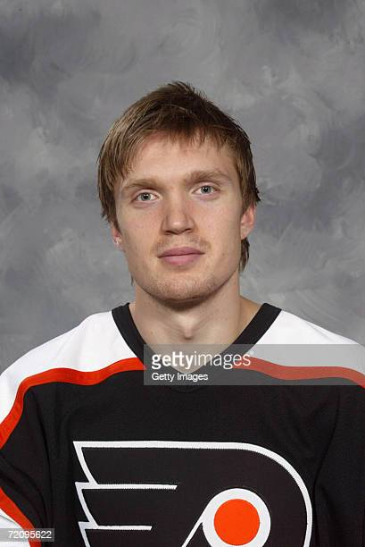 Jussi Timonen of the Philadelphia Flyers poses for a portrait on October 1 2006 at the Wachovia Center in Philadelphia Pennsylvania