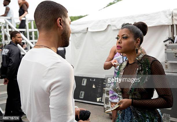 Jussie Smollett as Jamal Lyon and Taraji P Henson as Cookie Lyon in the The Devils Are Here Season Two premiere episode of EMPIRE airing Wednesday...