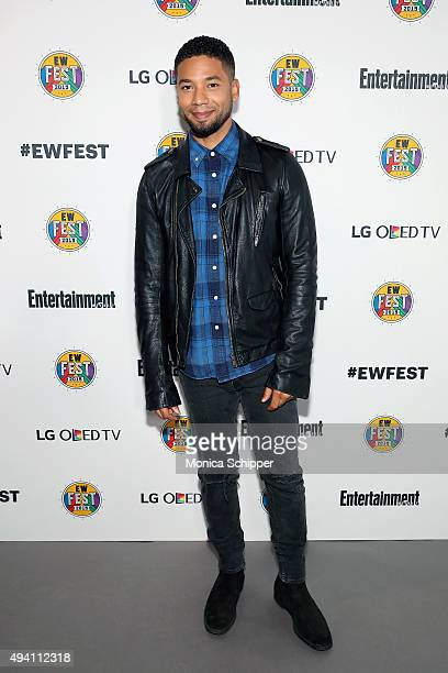 Jussie Smollett attends Entertainment Weekly's first ever 'EW Fest' presented by LG OLED TV on October 24 2015 in New York City