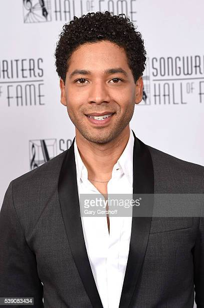 Jussie Smollett attends Songwriters Hall Of Fame 47th Annual Induction And Awards at Marriott Marquis Hotel on June 9 2016 in New York City