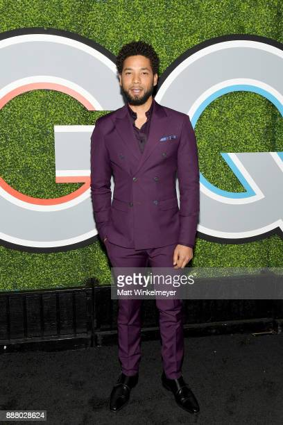 Jussie Smollett attends the 2017 GQ Men of the Year party at Chateau Marmont on December 7 2017 in Los Angeles California