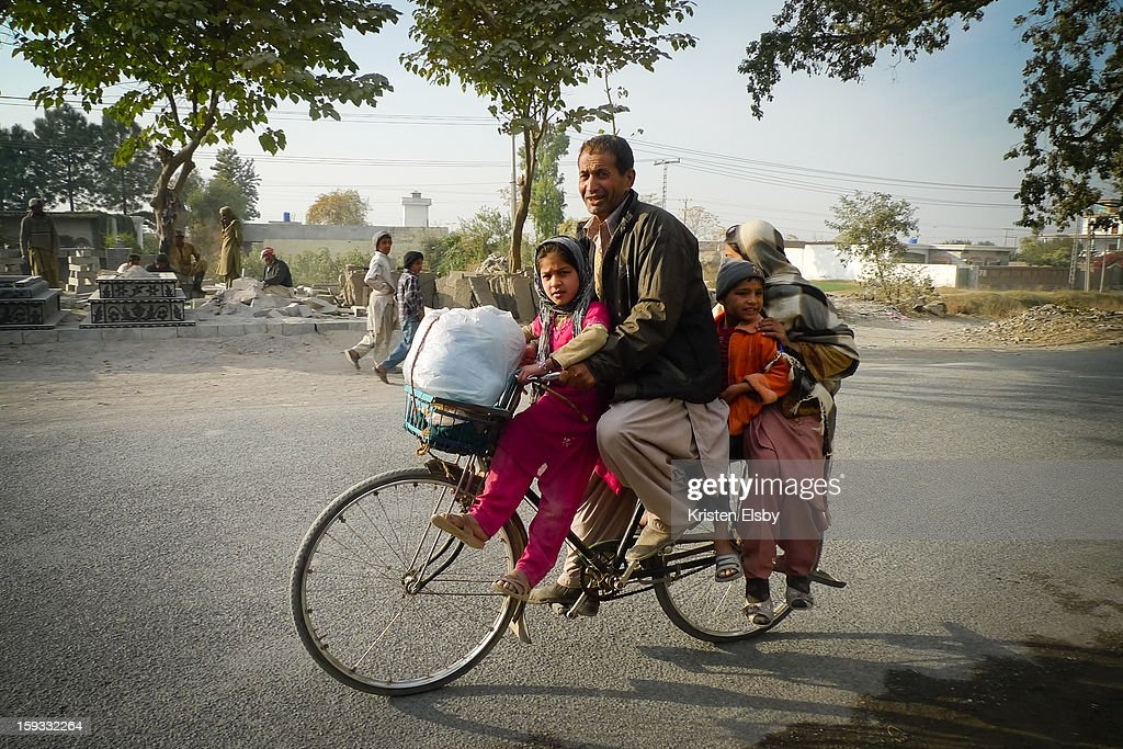 CONTENT] Just 50km from Islamabad lies the old village of Taxila, home to stone artisans, a museum of buddhist art and a countryside full of ancient buddhist relics. The roads around Taxila are full of locals travelling by every means of transport, including this family of four travelling by bicycle.