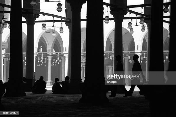 Just before afternoon prayers in a mosque in Cairo, Egypt.