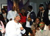 Just Blaze JayZ DJ Kid Capri TI Mary J Blige Sean 'P Diddy' Combs Foxy Brown Memphis Bleek and Slick Rick