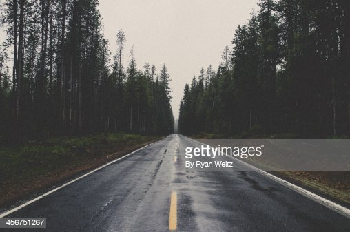Just drive north : Stock Photo