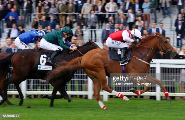 Just Glamorous ridden by Oisin Murphy wins Hope And Homes For Children Rous Stakes at Ascot Racecourse