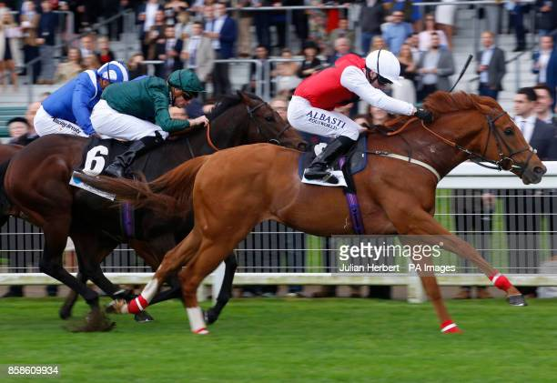 Just Glamorous ridden by Oisin Murphy wins the Hope And Homes For Children Rous Stakes at Ascot Racecourse PRESS ASSOCIATION Photo Picture date...