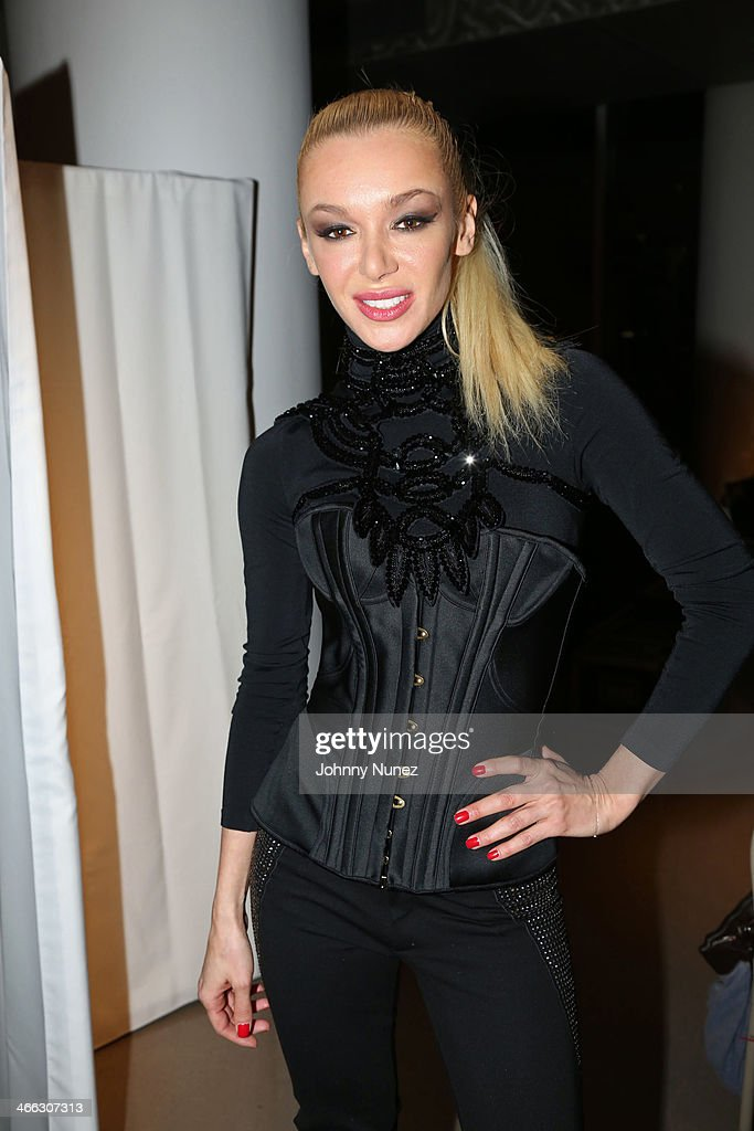 Just Ivy attends her Private Showcase at The Glasshouses on January 31, 2014 in New York City.