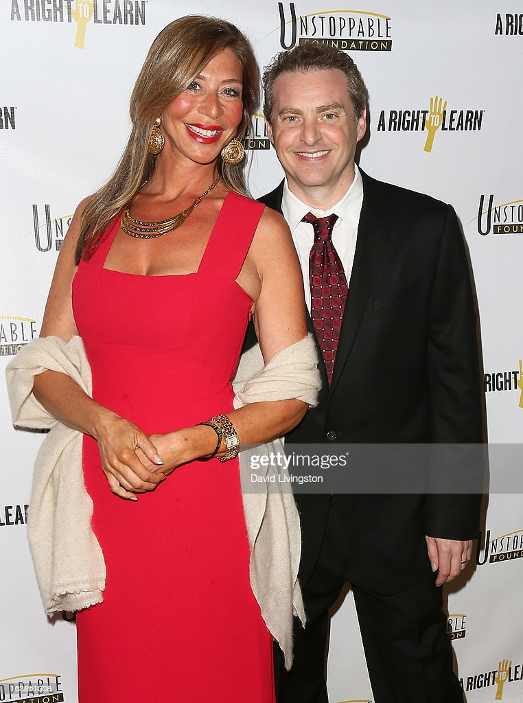 Just Like My Child Foundation founder Vivian Glyck (L) and husband Mike Koenigs attend the 4th Annual Unstoppable Gala at the Beverly Wilshire Four Seasons Hotel on March 16, 2013 in Beverly Hills, California.