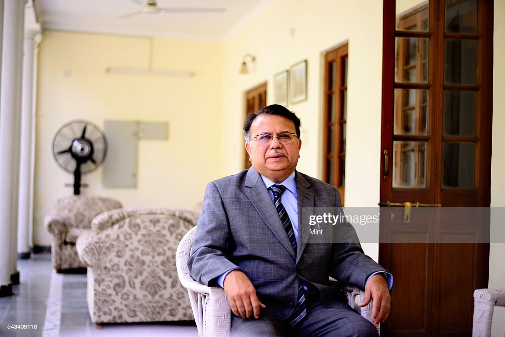 Justice Ajit Prakash Shah Chairman of the 20th Law Commission of India poses during an exclusive interview on November 6, 2014 in New Delhi, India.