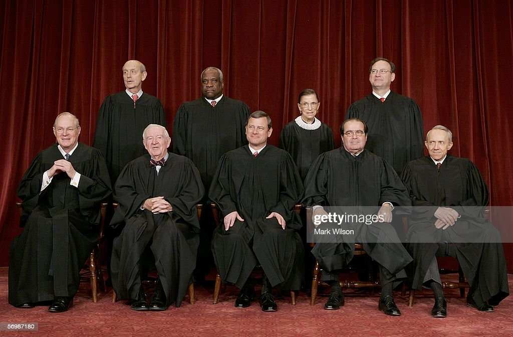 Justice Anthony M Kennedy Justice John Paul Stevens Chief Justice John G Roberts Justice Antonin Scalia Justice David H Souter Justice Stephen G...