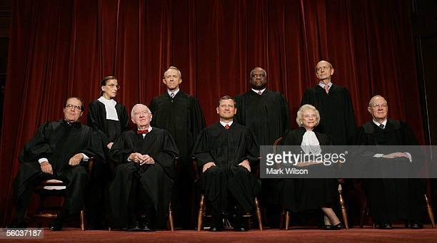 Justice Antonin Scalia Justice John Paul Stevens Chief Justice John G Roberts Justice Sandra Day O'Connor Justice Anthony M Kennedy Justice Ruth...