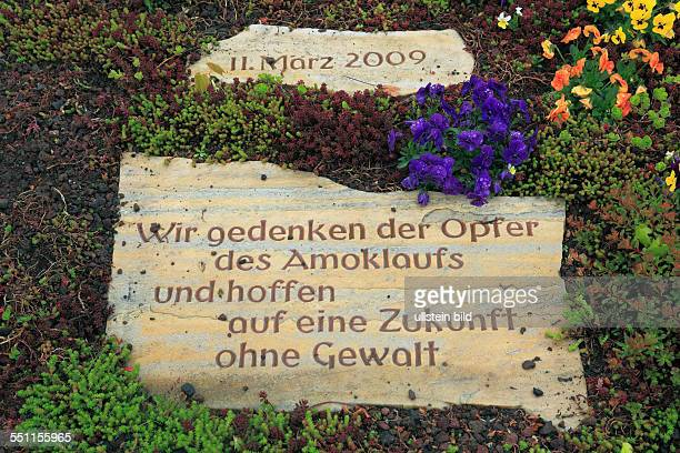 justice criminality capital crime murder shooting spree on 11 March 2009 in the Albertville Middle School of Winnenden and in Wendlingen am Neckar...