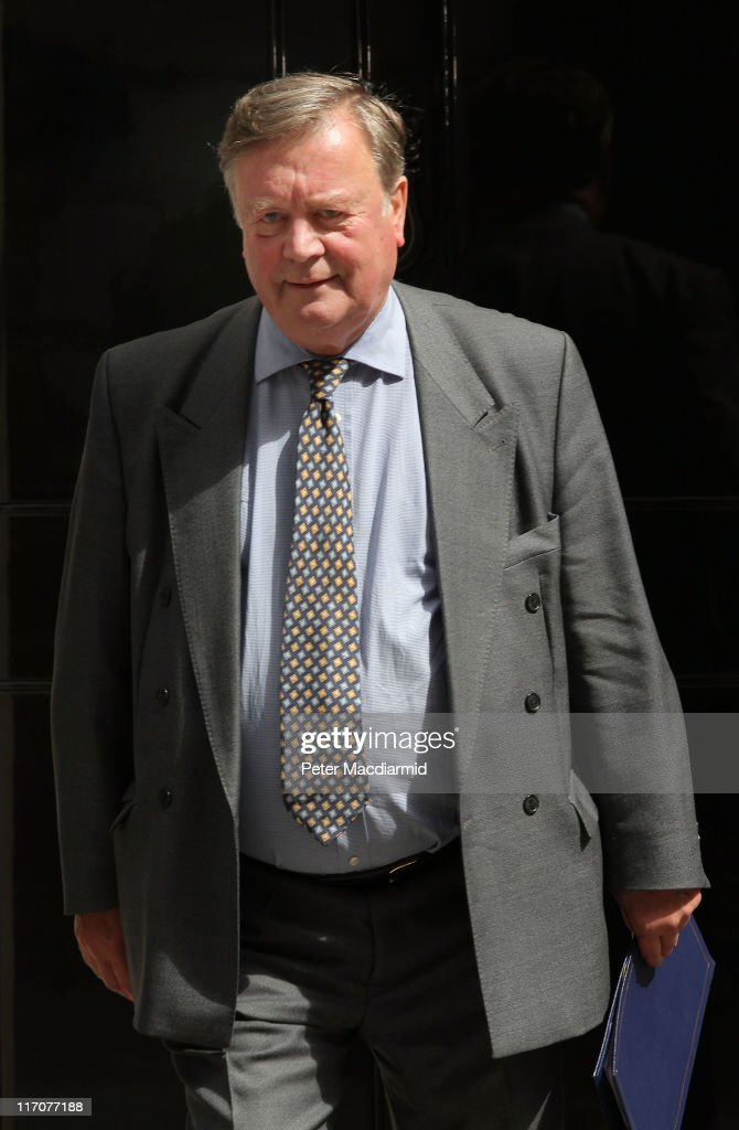 Justice Minister Ken Clarke leaves 10 Downing Street on June 21 2011 in London England Ken Clarke is under pressure to keep his job as Justice...