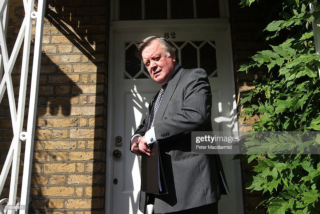 Justice Secretary Kenneth Clarke leaves home on May 19 2011 in London England Mr Clarke is facing criticism over his comments on rape during a radio...