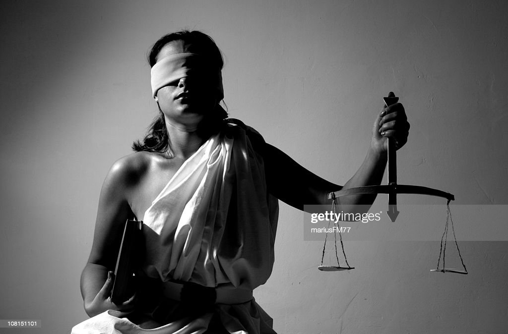 Justice-series with different situation : Stock Photo