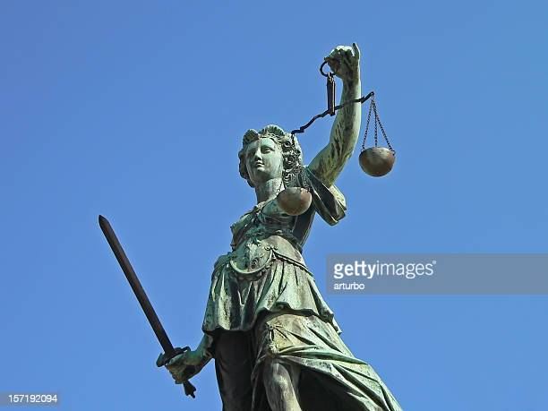 Justicia with sword