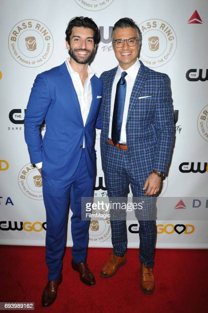 Justin Baldoni and Jaime Camil attend the United Friends of the Children Honors The CW and CW Good at the Annual Brass Ring Awards Dinner at The...
