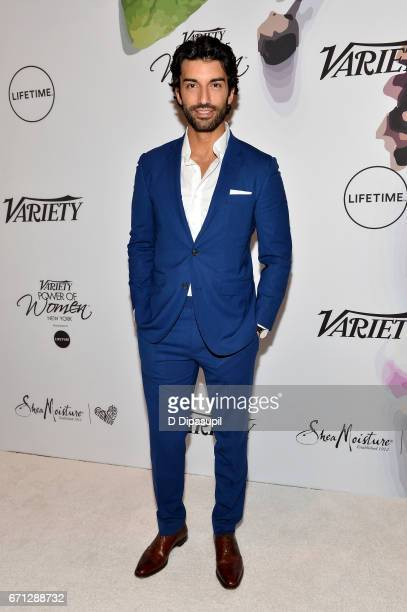 Justin Baldoni attends Variety's Power of Women New York at Cipriani Midtown on April 21 2017 in New York City