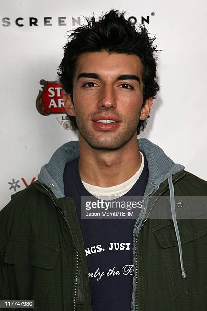Justin Baldoni during 2006 Sundance Film Festival Premiere Film Music Lounge Day 4 at Sundance Film Festival in Park City Utah United States