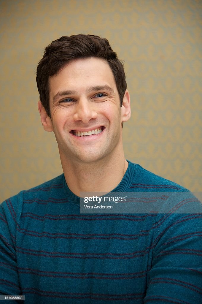 Justin Bartha at 'The New Normal' Press Conference at the Four Seasons Hotel on October 26 2012 in Beverly Hills California
