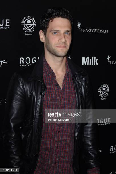 Justin Bartha attends THE ART OF ELYSIUM SECOND ANNUAL GENESIS EVENT SPONSORED BY ROGUE PICTURES PAIGE DENIM COFFEE BEAN TEA LEAF AND MILK STUDIOS at...