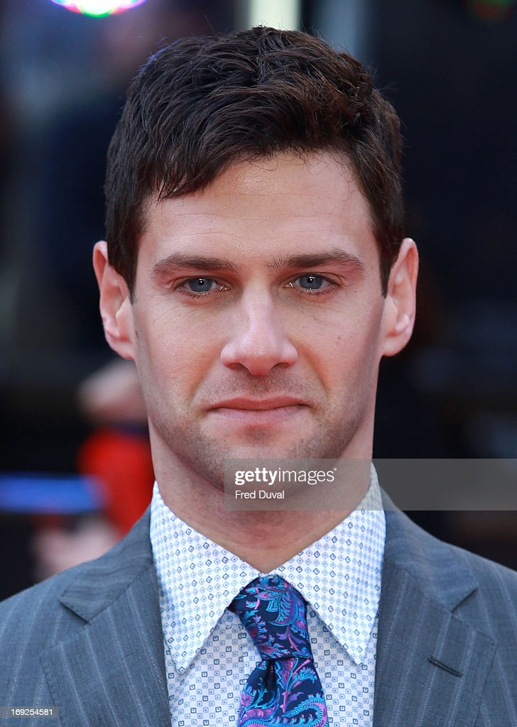 Justin Bartha attends The Hangover III - UK film premiere at The Empire Cinema on May 22, 2013 in London, England.