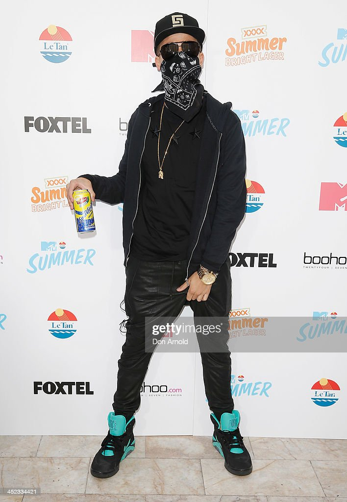 A Justin Beiber impersonator poses at MTV Summer at Sydney Town Hall on November 28, 2013 in Sydney, Australia.