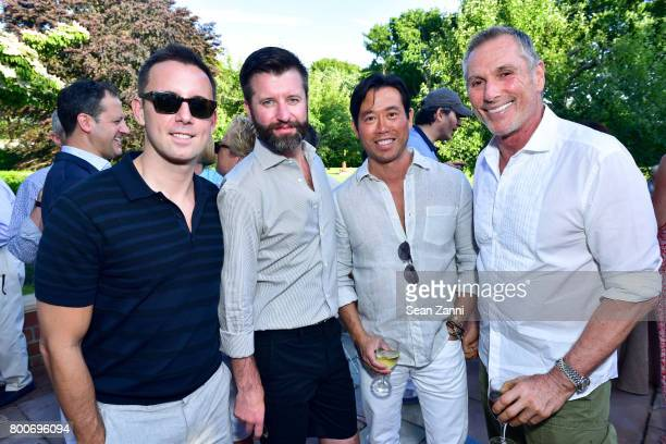 Justin Belmont Jeffrey Caldwell Matthew Yee and Vicente Wolf attend Maison Gerard Presents Marino di Teana A Lifetime of Passion and Expression at...