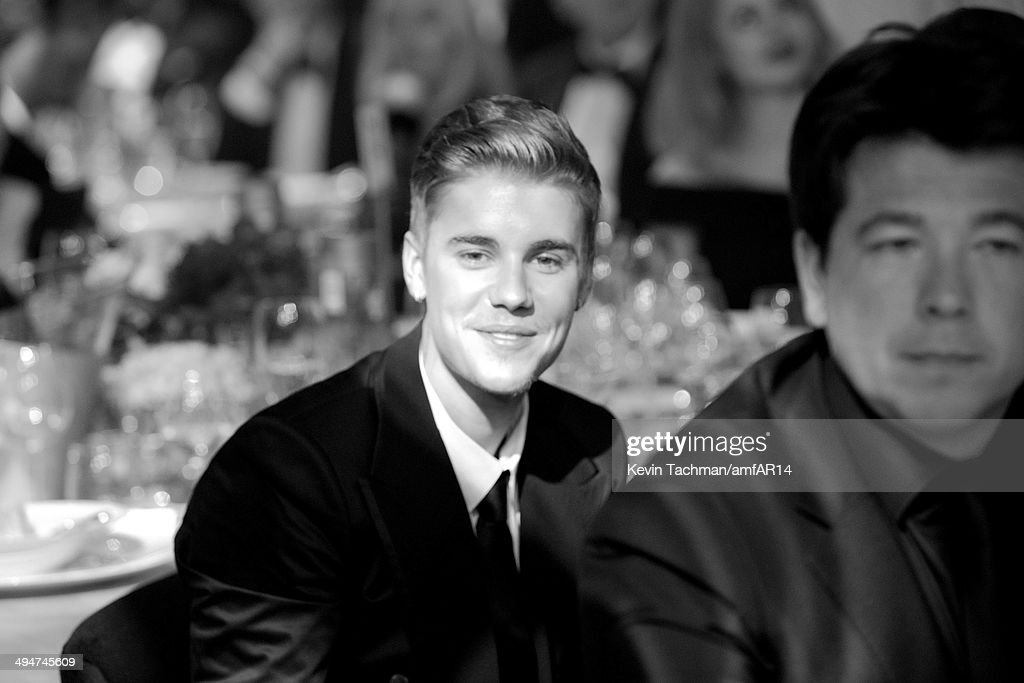 Justin Bieber attends amfAR's 21st Cinema Against AIDS Gala presented by WORLDVIEW, BOLD FILMS, and BVLGARI at Hotel du Cap-Eden-Roc on May 22, 2014 in Cap d'Antibes, France.