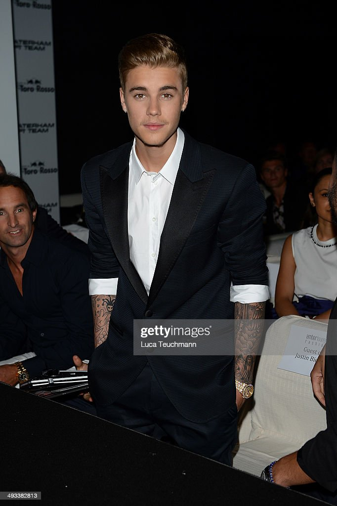 <a gi-track='captionPersonalityLinkClicked' href=/galleries/search?phrase=Justin+Bieber&family=editorial&specificpeople=5780923 ng-click='$event.stopPropagation()'>Justin Bieber</a> attends the Amber Lounge 2014 Gala at Le Meridien Beach Plaza Hotel on May 23, 2014 in Monte-Carlo, Monaco.